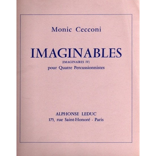Monic Cecconi : Imaginables