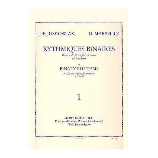 Jacques-François Juskowiak, Dominique Marseille : Rythmiques Binaires Volume 1