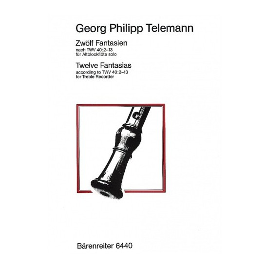 Georg Philipp Telemann : 12 Fantaisies