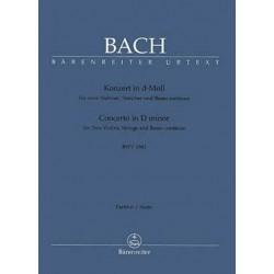 Johann Sebastian Bach : Concerto en Ré Mineur BWV 1043