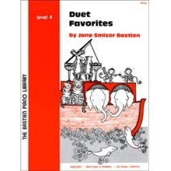 Jane Bastien : Duet Favorites Level 4