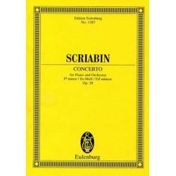 Alexander Scriabin : Concerto Pour Piano et Orchestre Opus 20