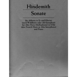 Paul Hindemith : Sonate (1943)