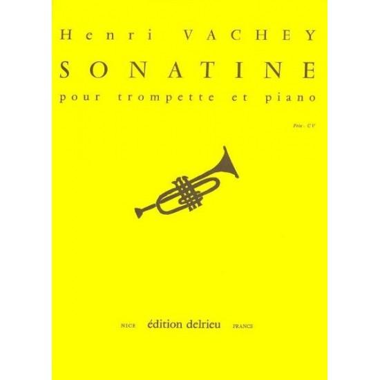 Henri Vachey : Sonatine Pour Trompette et Piano