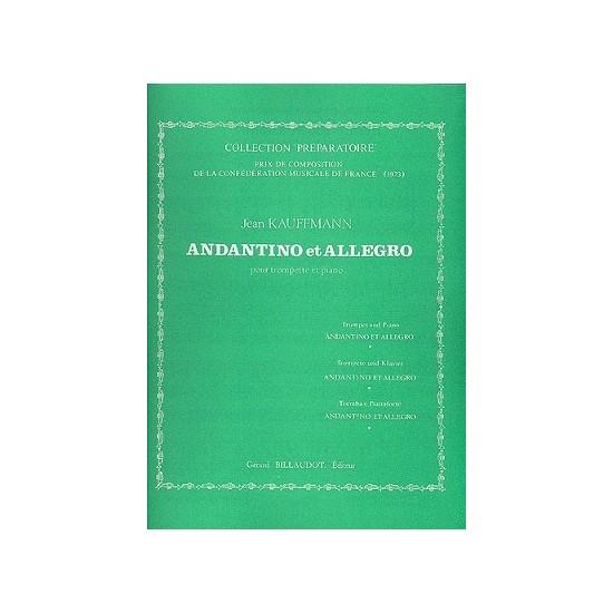 Jean Kauffmann : Andantino Et Allegro