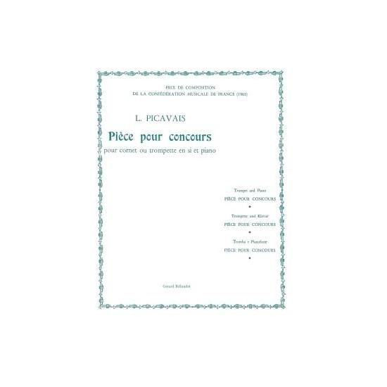 Lucien Picavais : Pièce Pour Concours