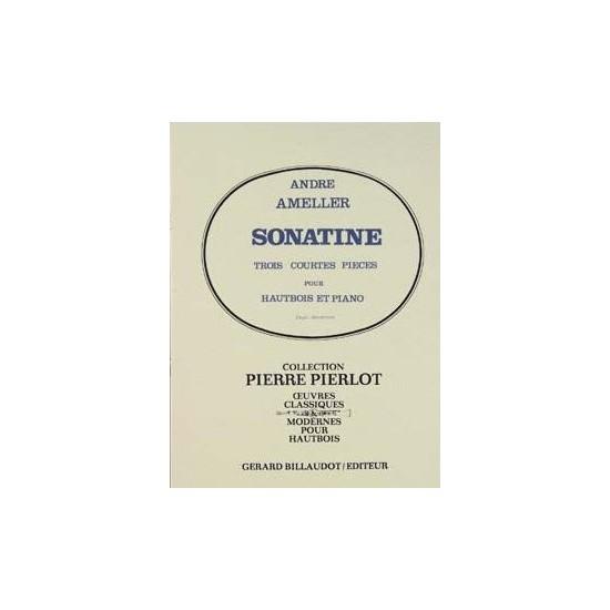 André Ameller : Sonatine Pour Hautbois et Piano
