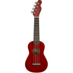 Fender Venice Soprano Ukulele Cherry