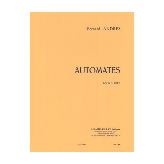 Bernard Andrès : Automates Pour Harpe