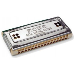 Hohner 54/64 Echo Double Droit 32 Harmonica Diatonique