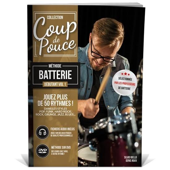 Coup de Pouce Batterie Vol.1 + DVD