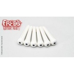 Fred's Chevilles Plastique Blanc