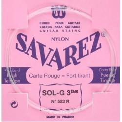 Savarez 523R Corde Sol Classique