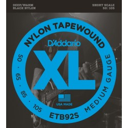 D'Addario ETB92S Short Scale Medium 50-105