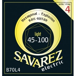 Savarez B70L4 Hexagonal Explosion Bass 45-100