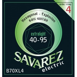 Savarez B70XL4 Hexagonal Explosion Bass 40-95