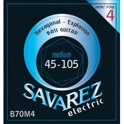 Savarez B70M4 Hexagonal Explosion Bass 45-105