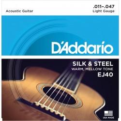 D'Addario EJ40 Accoustic 11-47