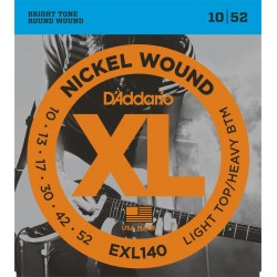 D'Addario EXL140 LTHB 10-52
