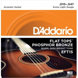 D'Addario EFT15 Extra Light 10-47
