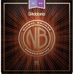 D'Addario NB1152 Custom Light 11-52