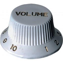 Gewa Bouton Strat Blanc Volume