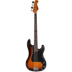 Prodipe Guitars PB80RA Sunburst