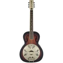 Gretsch G9241 Alligator Biscuit Round-Neck AE Resonator Guitar