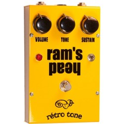 Retro Tone Rams Head