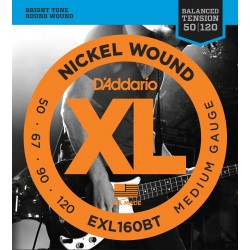 D'Addario EXL160BT Balanced Tension 50-120