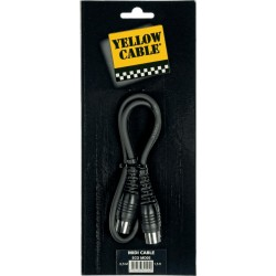 Yellow Cable MD05 Cordon Midi 0.5M