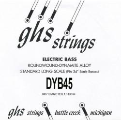 GHS DYB45 Basse .045
