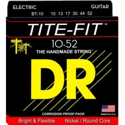 DR Strings Tite-Fit BT-10 Electrique 10-52
