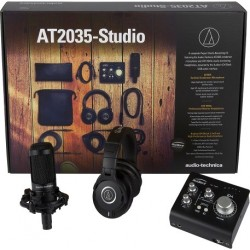 Audio Technica AT2035-Studio Pack Complet
