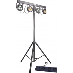 Power Lighting Ensemble 4 par LED