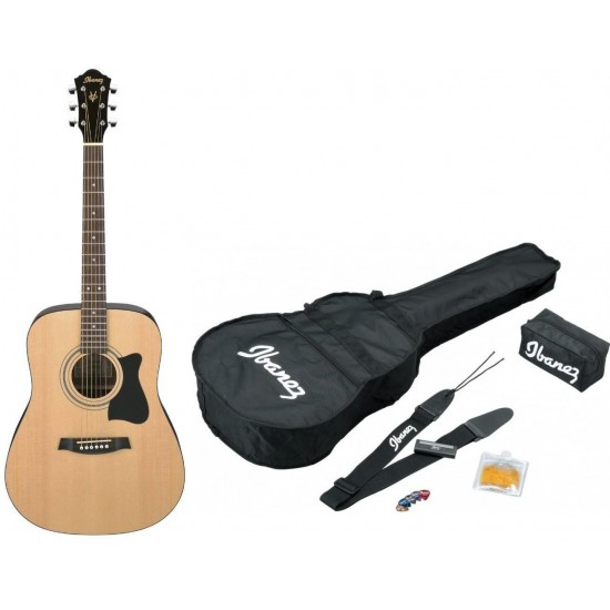Ibanez V50NJP-NT Jam Pack Guitare Acoustique