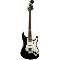 Squier Black and Chrome Standard Stratocaster HSS LRL Black