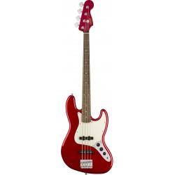 Squier Contemporary Jazz Bass LRL Dark Metallic Red