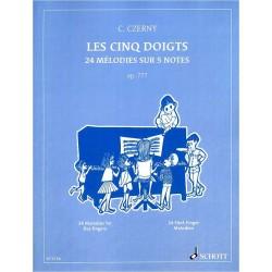 Czerny : Les Cinq Doigts op. 777
