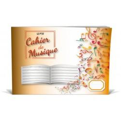 Cahier de Musique 6 Portées Enfant