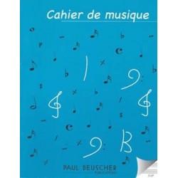 Cahier de Musique 12 Portées Petit Format