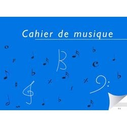 Cahier de Musique 6 Portées Italienne