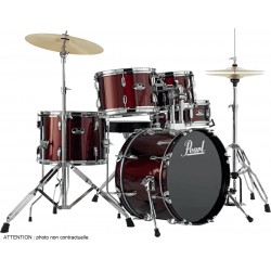 "Pearl RS585CC-91 Batterie Junior 18"" 5 Fûts Red Wine"