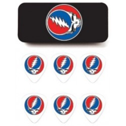Dunlop GDPT03M Grateful Dead Steal Your Face
