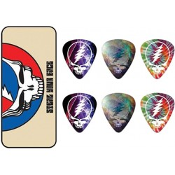 Dunlop GDPT04M Grateful Dead Steal Your Face