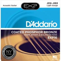 D'addario EXP16 Jeu Acoustique 013-053