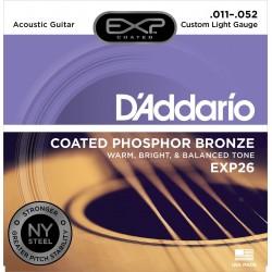 D'addario EXP26 Jeu Acoustique 011-052