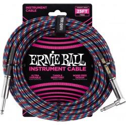 Ernie Ball 6063 Jack Coudé 7,62m