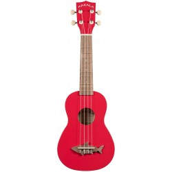 Kala Makala Shark Soprano Red