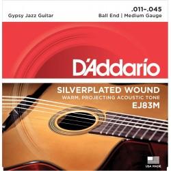 D'Addario EJ83M Jeu Gypsy Jazz